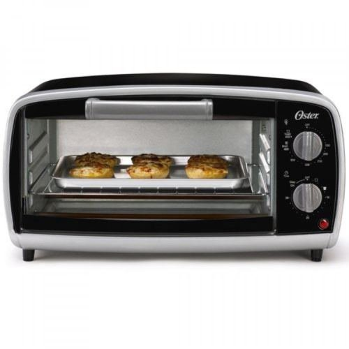 Oster 4-Slice Toaster Oven TSSTTVVG01, Black, New (Rival Toaster Oven Parts compare prices)