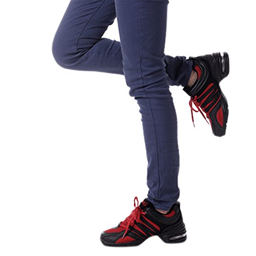 Shoes Walking Fitness Chnli Shoes Gym Women Red Mesh Athletic Casual Running Dancing Sneakers Sports Jogging Trainers xv6xFwHz