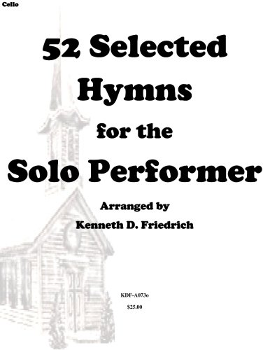 52 Selected Hymns for the Solo Performer-cello version ()
