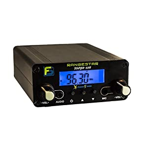 0.5 W Fail-Safe Long Range FM Transmitter - FS CZH-05B - Newly Revised: Dual Mode now with RCA Inputs MP3 and MP4 Player Accessories