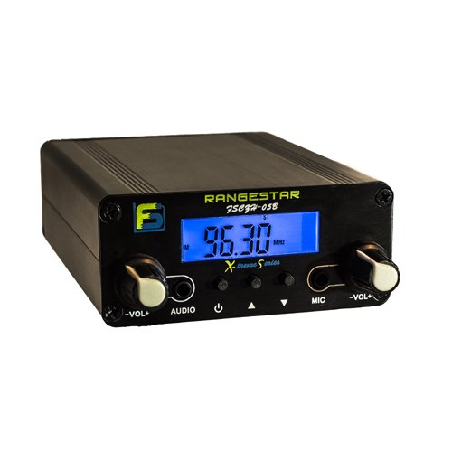 (0.5 W Fail-Safe Long Range FM Transmitter - FS CZH-05B - Newly Revised: Dual Mode now with RCA Inputs)