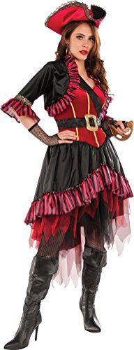 Pirate Family Costumes (Rubie's Costume Co. Women's Lady Buccaneer Costume, As Shown, Standard)