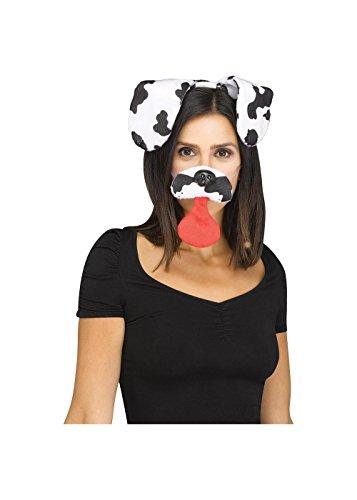 Fun World Costumes Snapchat Dalmatian Dog Filter Kit