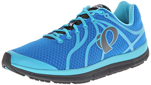 Pearl iZUMi Men EM Road N2 v2 Running Shoe Brilliant Blue/Blue Atoll