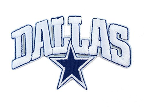 InspireMe Family Owned Dallas Cowboys Sew/Iron-on Patch/Applique 4