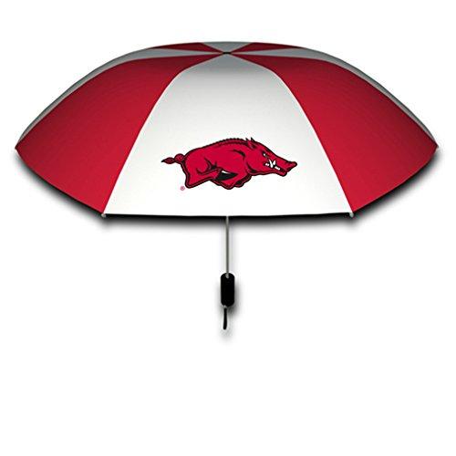 Seven Sons Rainmate Rainwear NCAA Arkansas Razorbacks 42-Inch Folding Umbrella