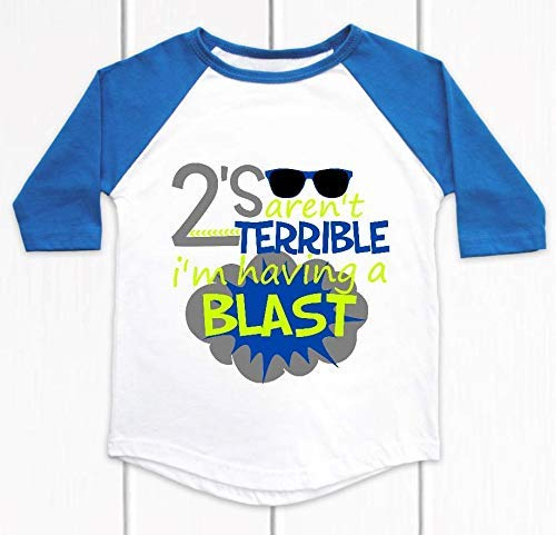 Two Year Old Party Shirt Toddler T-shirt Terrible Twos