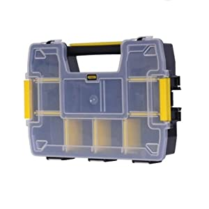 "Stanley STST1-70720 Organizer ""Sort Master"" stackable, Multicolor"