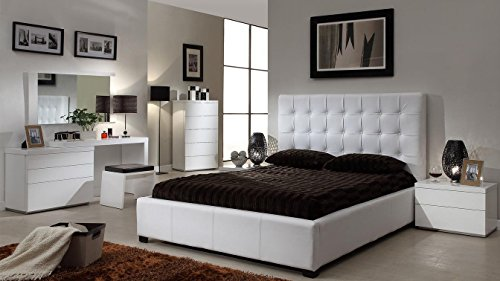 At Home Skuathcw Athens White 5D Chest (Athens Sofa)