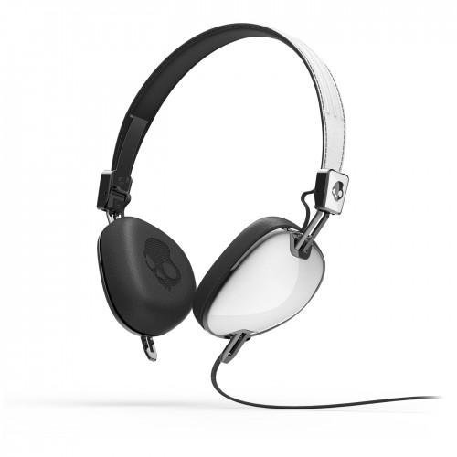 Skullcandy Navigator On-ear Headphone with Mic3, White