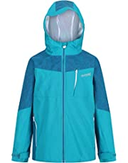 Regatta Kid's Hydrate V 3 in 1 Waterproof Breathable Highly Reflective Taped Seams Mesh Lined Jacket