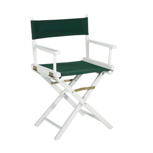 "Director' s Chair Frame, 18""H, WHITE"