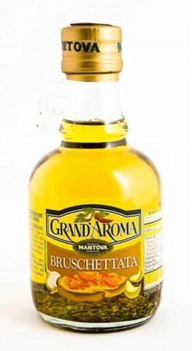 Mantova Grand Aroma Bruschetta Extra Virgin Olive Oil 8.5 oz (Pack of 2)