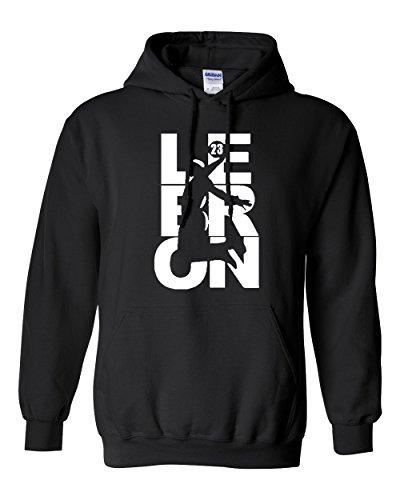 City Shirts New Lebron Fan Wear Cleveland Sweatshirt Hoodie (Large, Black)