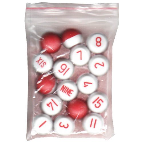 Plastic Tally Bottle (Sterling Gaming Plastic Tally Ball Set)
