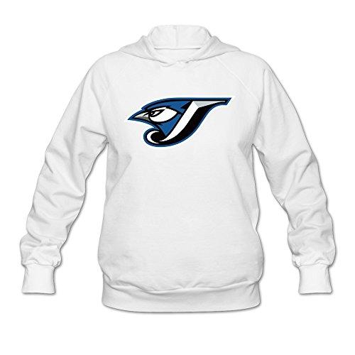 Sasha Women's Blue Jays Icon Hoodie Sweatshirt White M
