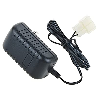 Digipartspower 6V Wall Charger AC Adapter For Battery Powered Kid TRAX ATV Quad Ride On Car