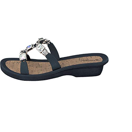 Bleu Piscine Décontractées Mules De Tongs Et Linea Femmes Mestre Chaussures Scarpa P8qpxIv