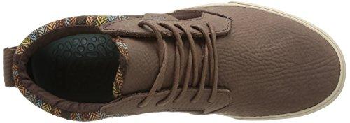 Rif Heren Outhaul Premium Bruin Flanellen Sneaker 8.5 D (m)