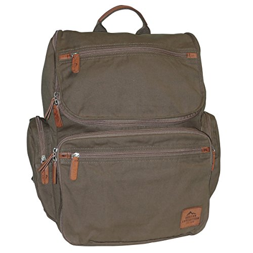 buxton-mens-expedition-ii-huntington-canvas-backpack-olive