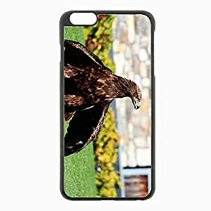iPhone 6 Plus Black Hardshell Case 5.5inch - grass extraction Desin Images Protector Back Cover