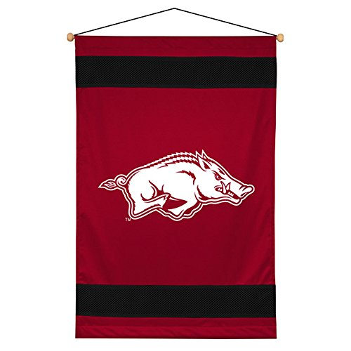 NCAA Arkansas Razorbacks Sideline Wall Hanging (Sports Wall Fan Hanging)