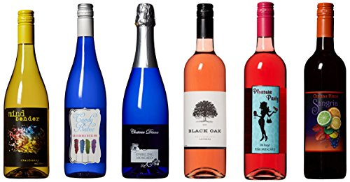 Craft Wine Big 6 Mixed Pack White, Sweet, Sparkle and Red Mixed Pack 6 x 750 ml