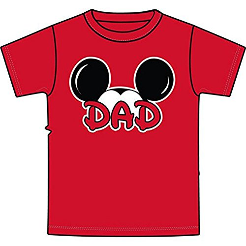 Disney Adult Plus Size Mens T-Shirt Dad Family Tee (2XL) -