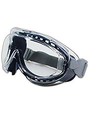 Uvex S3400X Flex Seal Safety Goggles, Navy Body, Clear Uvextreme Anti-Fog Lens, Neoprene Headband