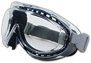 Clear Uvextreme Anti-Fog Lens Navy Body Uvex S3400X Flex Seal Safety Goggles Neoprene Headband