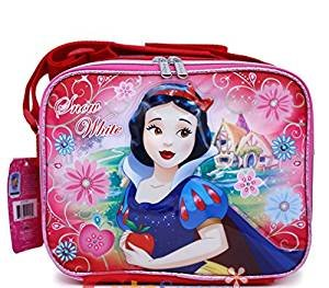 Princess Snow White School Lunch Bag Insulated Snack Bag