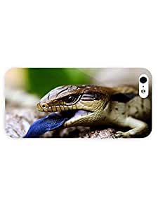 3d Full Wrap Case For Sam Sung Galaxy S5 Cover Animal Blue Tongued Skink28