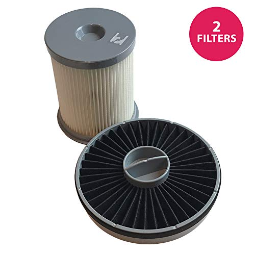 - Think Crucial Replacement for Hoover Elite Rewind HEPA Style Filter & Exhaust Fits Fusion Uprights, Compatible with Part # 59157014 & 59157055