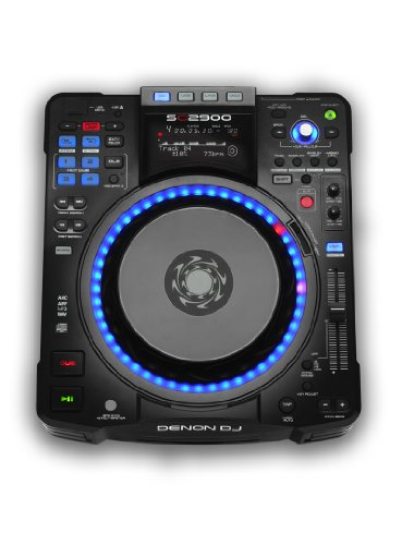 Denon Digital Turntable (Denon DJ SC2900 Digital Controller and Media Player)