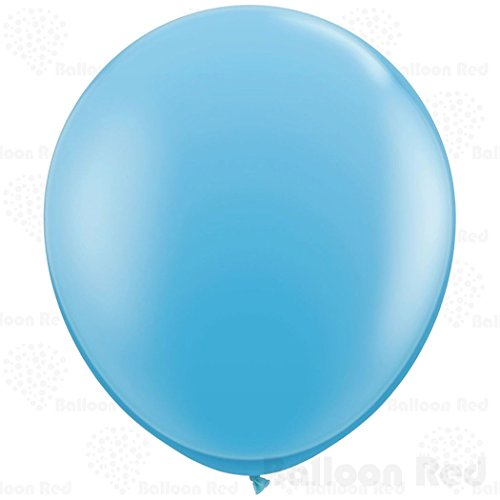 [36 Inch Giant Jumbo Latex Balloons (Premium Helium Quality), Pack of 24, Pale Blue] (30 Second Costumes)