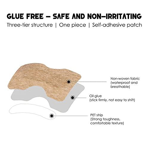 HXS Glue Free Toenail Patch Ingrown Toenail Stickers Nail Treatment Foot Tool, Ingrown Toenail Removal Correction Patch Professional Nail Corrector Pedicure Tools for Men Women
