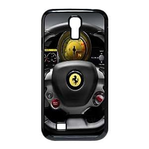 Samsung Galaxy S4 9500 Case Covers Negro Ferrari Italia Volante personalizado único teléfono Caso E7N3BG