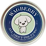 Wagberry All About The Paws - Paw And Nose Balm For Dogs - 100% Natural Soothing Cream To Moisturize Dry Cracked Skin - Heals & Protects Noses And Pads - LOVE IT NATURAL, Made In USA, 2oz