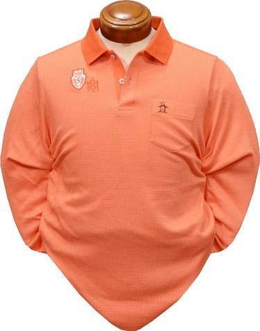 [マンシングウェア]長袖シャツ  メンズ B079HN21RC 日本 3L (日本サイズ3L相当) OR00(オレンジ) OR00(オレンジ) 日本 3L (日本サイズ3L相当)