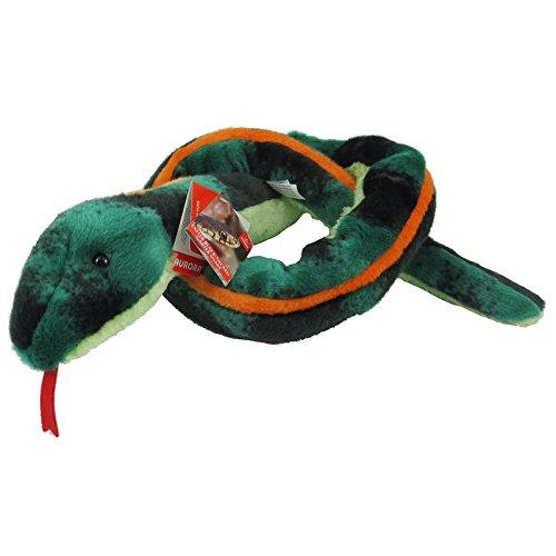 Aurora World Plush Eastern Blackneck Garter Snake 50