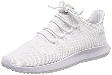 adidas Men's Tubular Shadow, FTWWHT/CBLACK/FTWWHT, 4 M US