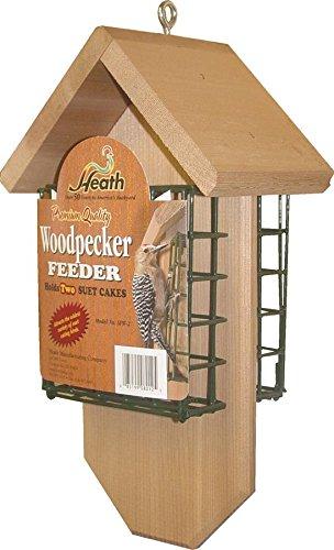 Heath Outdoor Products SFW-2 Woodpecker Chalet- Cedar