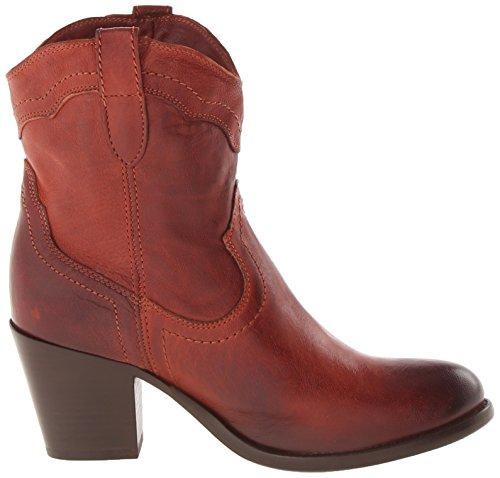 FRYE Womens Tabitha Pull-On Short Western Boot Burnt Red LwnTe0UgR