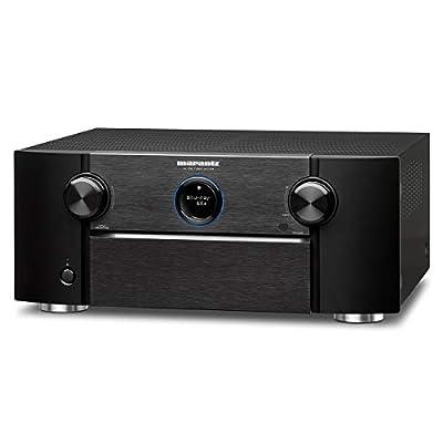 Marantz AV7705 11.2CH 4K Ultra HD AV Surround Pre-Amplifier with Dolby Atmos DTS:X IMAX Enhanced Auro-3D HEOS and Amazon Alexa Voice Compatibility Black