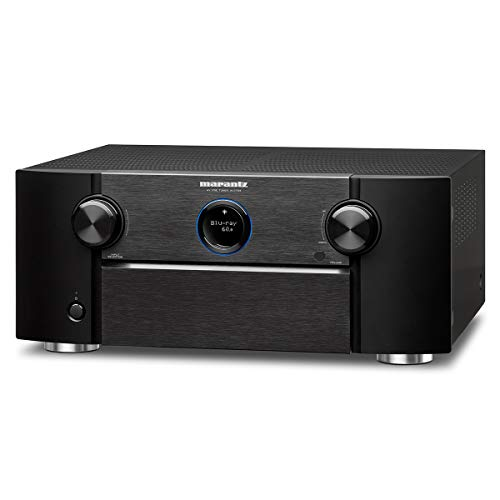 Marantz AV7705 11.2CH 4K Ultra HD AV Surround Pre-Amplifier with Dolby Atmos DTS:X IMAX Enhanced Auro-3D HEOS and Amazon Alexa Voice Compatibility Black