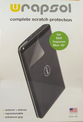 Complete Scratch Protection for Dell Inspiron Mini 10 Wrapsol Complete Protection