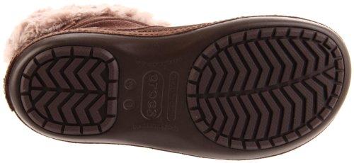 crocs Berryessa Buckle 11604 Damen Stiefel Braun/Espresso/Mushroom