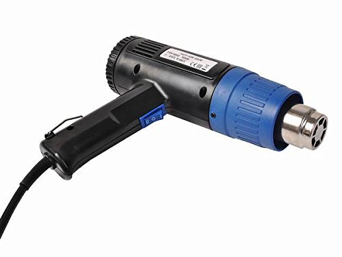 Safstar Dual Temperature 1500W Heat Gun Hot Air Gun + 4 Nozzles Power Heater by Safstar