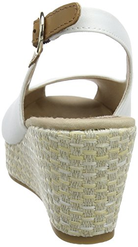 Sling White Espadrillas Iconic Hilfiger Donna Bianco Basic Tommy 121 Back Elba Whisper YRvIn1wwq