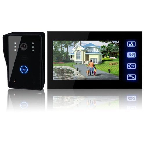 EastVita® 7''LCD Wireless Video Door Phone Doorbell Intercom System Night Vision Waterproof by EastVita
